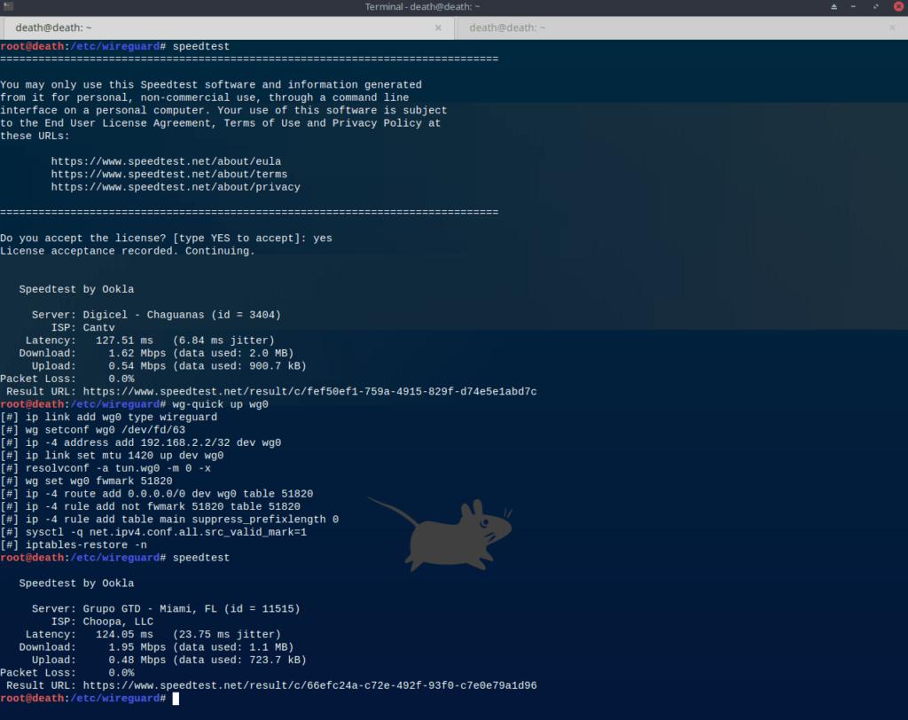 Funcionando en Mx linux